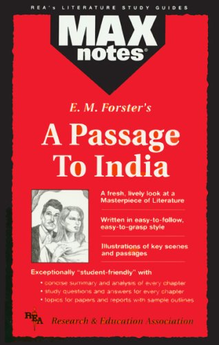 Passage to India, a (Maxnotes Literature Guides) 9780878910397
