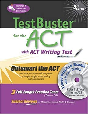 ACT Testbuster W/ CD-ROM -- Rea's Testbuster for the ACT W/ Testware [With CDROM] 9780878912902
