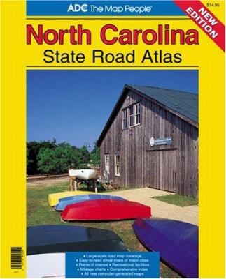 ADC North Carolina State Road Atlas