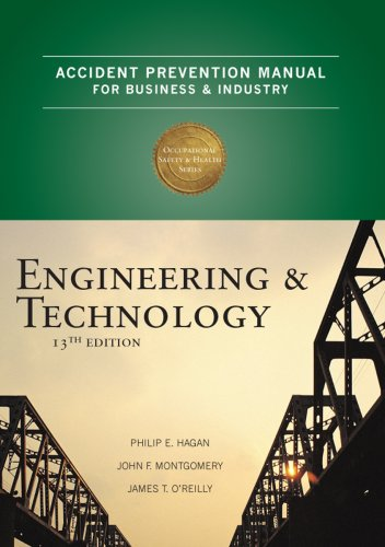 Accident Prevention Manual for Business & Industry: Engineering & Technology 9780879122812