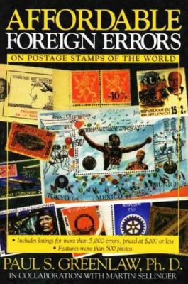 Affordable Foreign Errors on Postage Stamps of the World 9780873416146