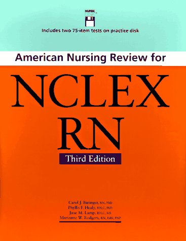 American Nursing Review for NCLEX-RN - 3rd Edition