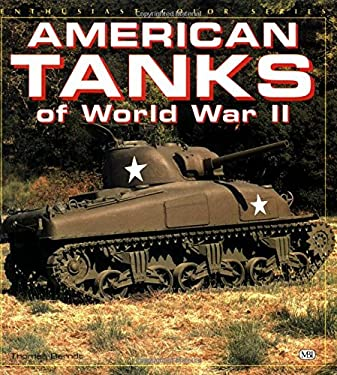 American Tanks of WWII 9780879389307