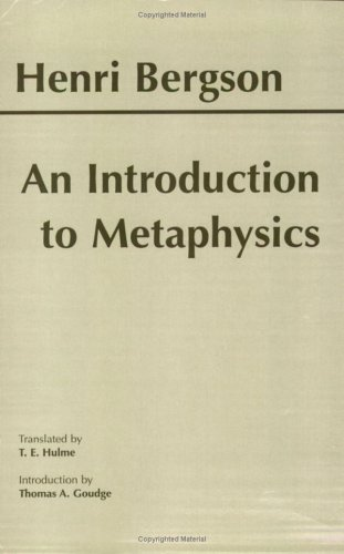An Introduction to Metaphysics 9780872204744