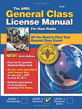 Arrl General Class License Manual: Radio Operators 9780872599963