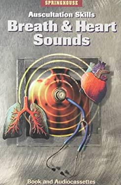 Auscultation Skills: Breath & Heart Sounds [With 2 Cassettes] 9780874349627