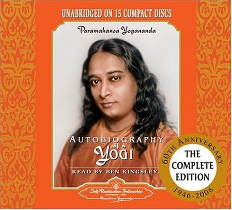 Autobiography of a Yogi: Unabridged Audiobook Read by Ben Kingsley 9780876120958