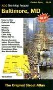 Baltimore, MD Pocket Atlas 9780875308173