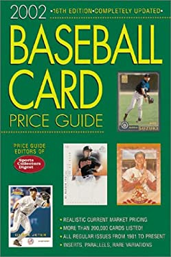 Baseball Card Price Guide 9780873493963