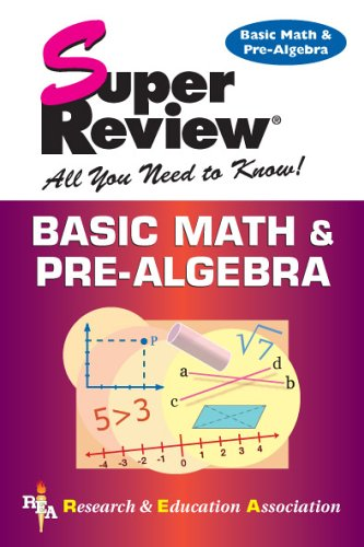 Basic Math & Pre-Algebra 9780878914616