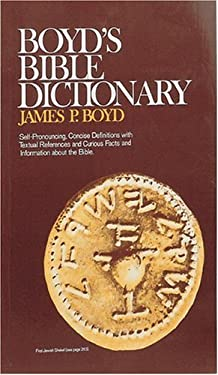 Boyd's Bible Dictionary 9780879810870