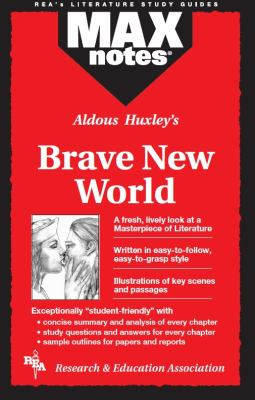 Brave New World (Maxnotes Literature Guides) 9780878917518