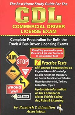 CDL (Rea) - The Best Test Preparation for the Commercial Driver's License Exam 9780878911097