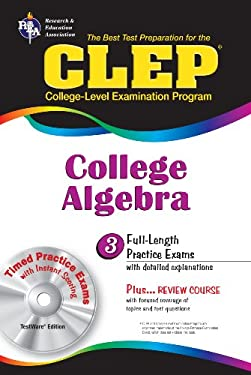 CLEP College Algebra [With CDROM] 9780878916733