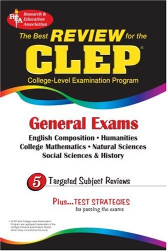 CLEP General Exam (Rea) -The Best Exam Review for the CLEP General 9780878919000