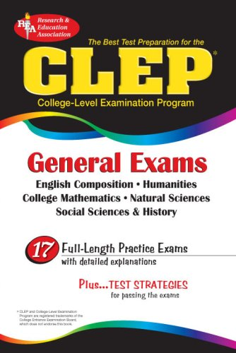 CLEP General Exam (Rea) - The Best Test Prep for the CLEP General Exam 9780878919017