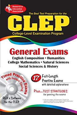 CLEP General Exams [With CDROM] 9780878912759
