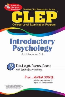 CLEP Introductory Psychology (Rea) - The Best Test Prep for the CLEP 9780878912742