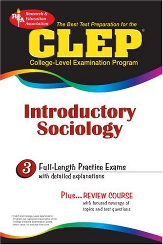CLEP Introductory Sociology (Rea) 9780878919031