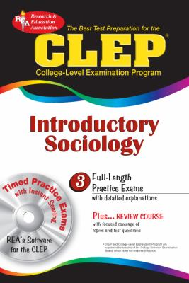 CLEP Introductory Sociology [With CDROM] 9780878912766
