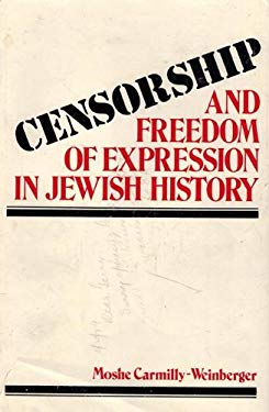 Censorship and Freedom of Expression in Jewish History