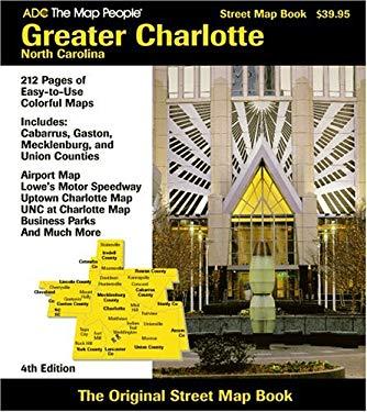 Charlotte NC Greater Atlas 9780875306094