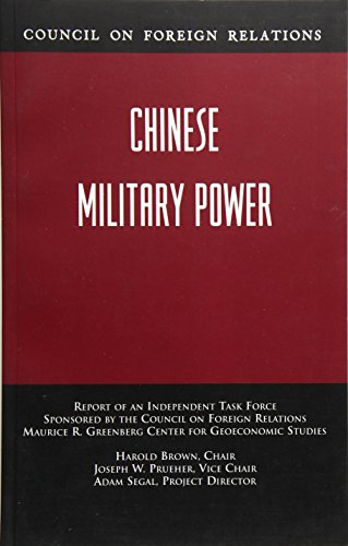 Chinese Military Power 9780876093306