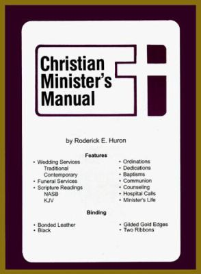 Christian Minister's Manual 9780872395923