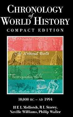 Chronology of World History 9780874368666