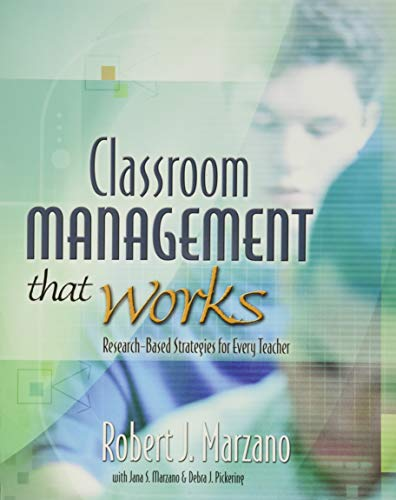 Classroom Management That Works: Research-Based Strategies for Every Teacher 9780871207937