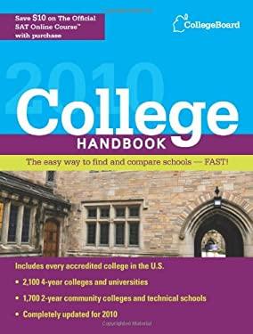 College Handbook 9780874478464