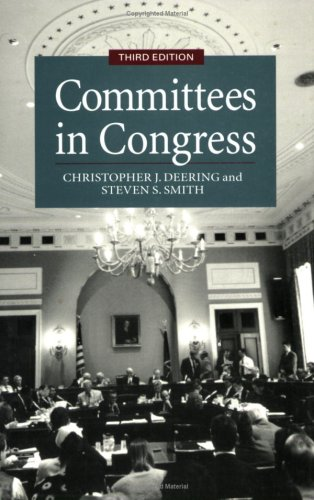 Committees in Congress, 3e 9780871878182