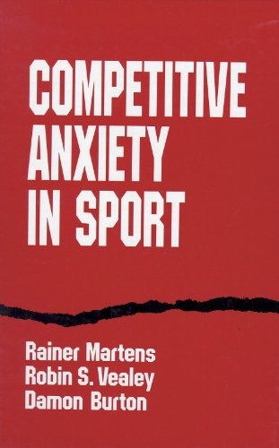 Competitve Anxiety in Sport 9780873229357