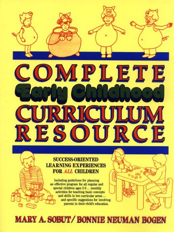 Complete Early Childhood Curriculum Resource 9780876282380