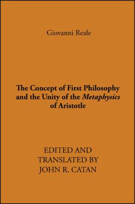 Concept of First Philosophy 9780873953856