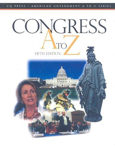 Congress A to Z 9780872895584