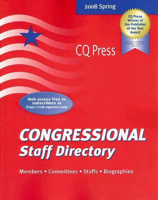 Congressional Staff Directory 9780872892422