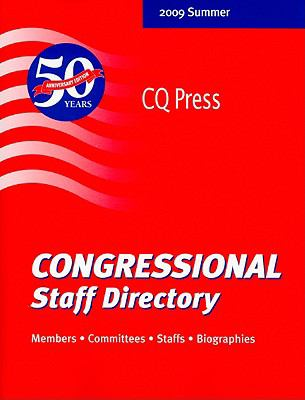 Congressional Staff Directory: 111th Congress, First Session 9780872894440