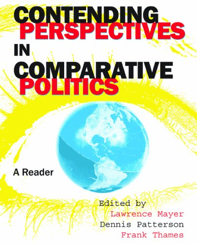 Contending Perspectives in Comparative Politics 9780872899254