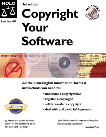 Copyright Your Software [With CDROM] 9780873377195