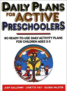 Daily Plans for Active Preschoolers 9780876282502