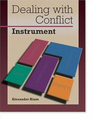 Dealing with Conflict: Instrument: Packet of 5 9780874255041