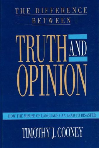 Difference Between Truth/Opinion