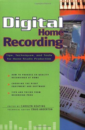 Digital Home Recording 9780879303808