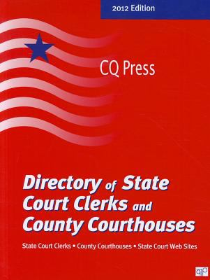 Directory of State Court Clerks 2012 9780872897496