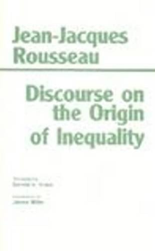 Discourse on the Origin of Inequality 9780872201514