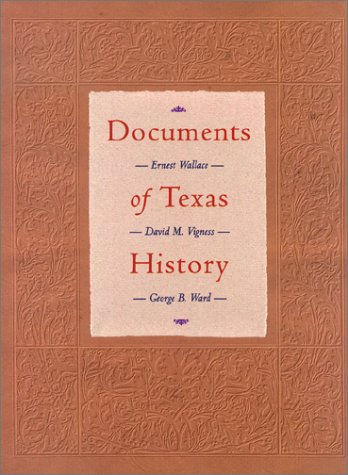 Documents of Texas History 9780876111888