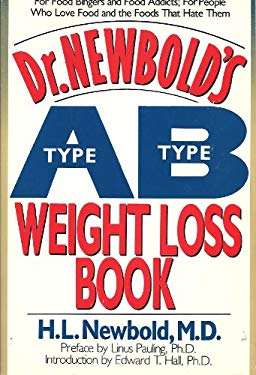 Dr. Newbold's Type A/Type B Weight Loss Book 9780879835507