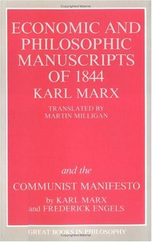 Economic and Philosophic Manuscript