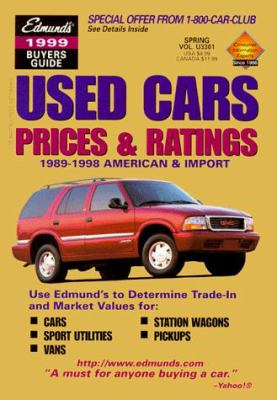 Edmund's Used Cars Prices and Ratings: Buyers Guide: 1988-1997 American & Import